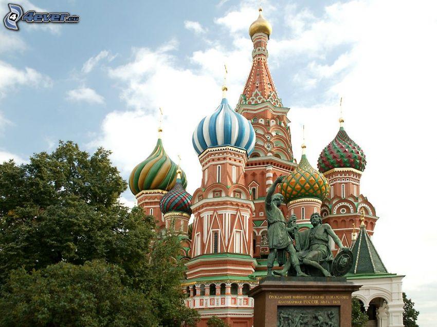 Cerkiew, Błogosławionego Wasyla, posąg