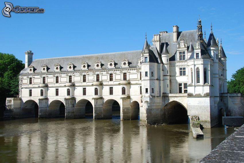 Château de Chenonceau, rzeka