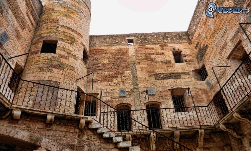 Château d'If, poręcz