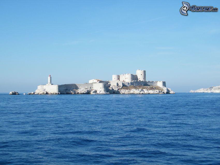 Château d'If, wyspa