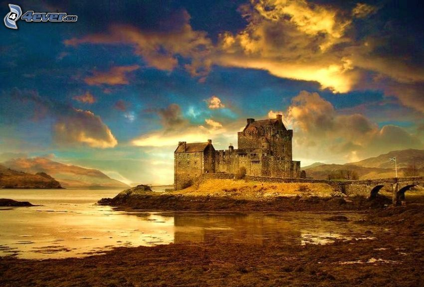 Eilean Donan, Szkocja