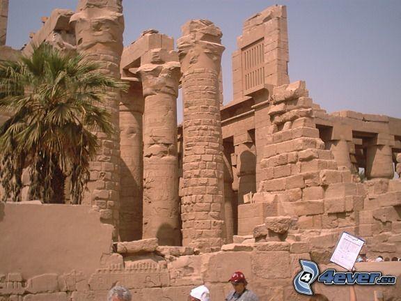 Karnak, ruiny, Egipt, historia, świątynia
