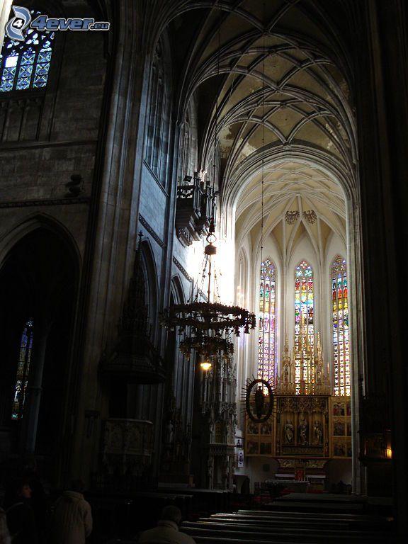 Katedra św.Elżbiety, wnętrze, sufit, sklepienie