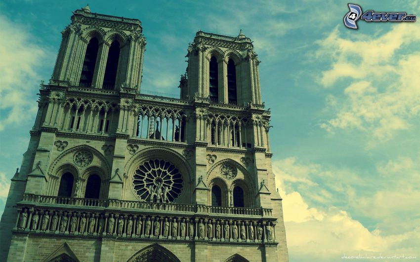 Notre Dame, Paryż, Francja, katedra