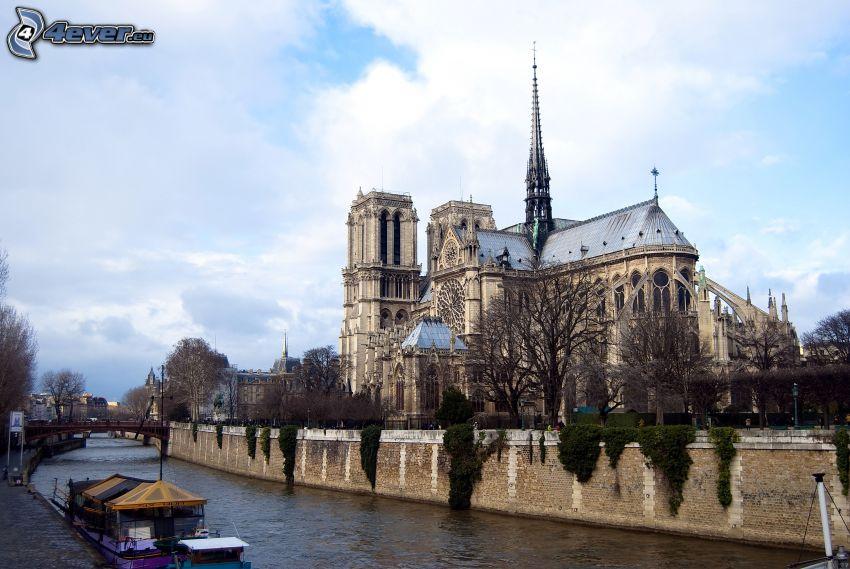 Notre Dame, Paryż, Francja