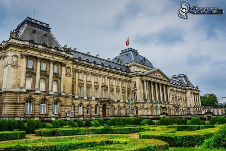 pałac, Bruksela