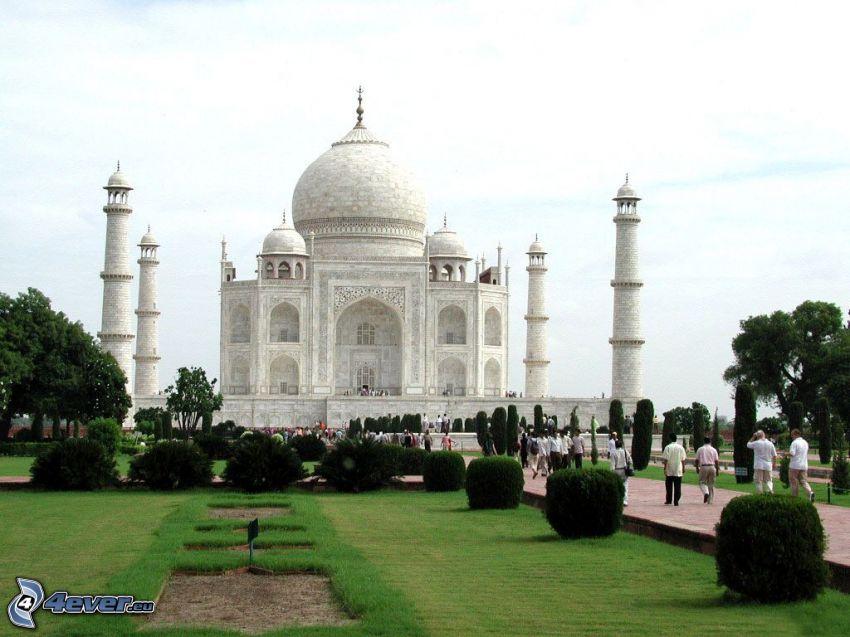 Taj Mahal, ogród