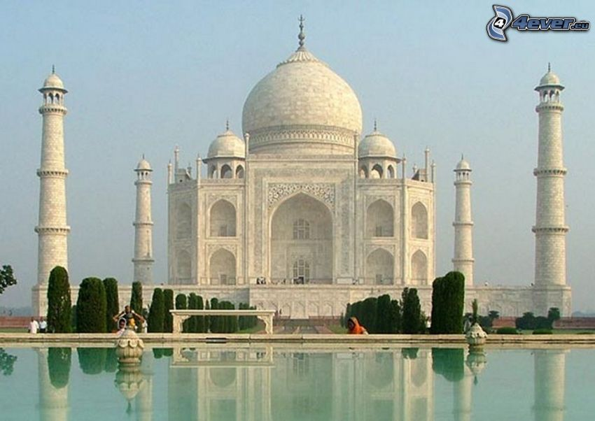 Taj Mahal, woda