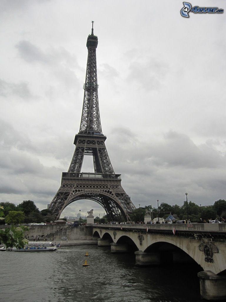 Wieża Eiffla, Paryż, Francja, budowle