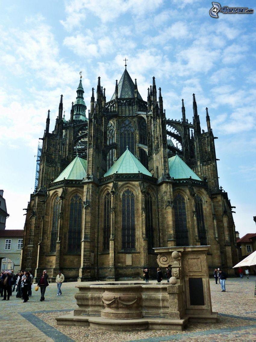 Zamek Praski, Praga, plac