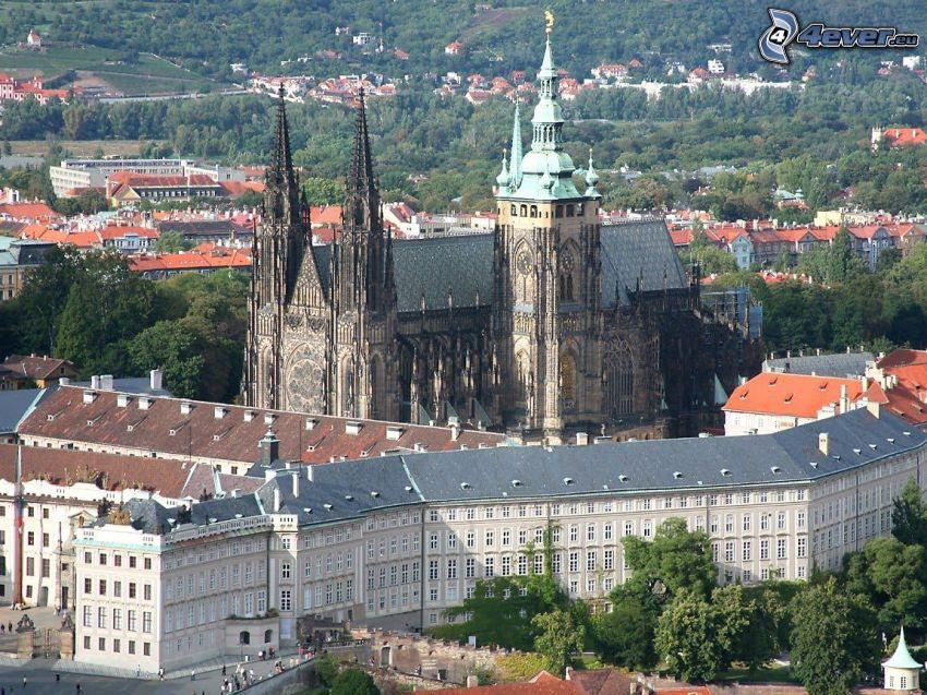 Zamek Praski, Praga