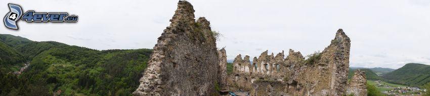 Zamek Šašov, pasmo górskie