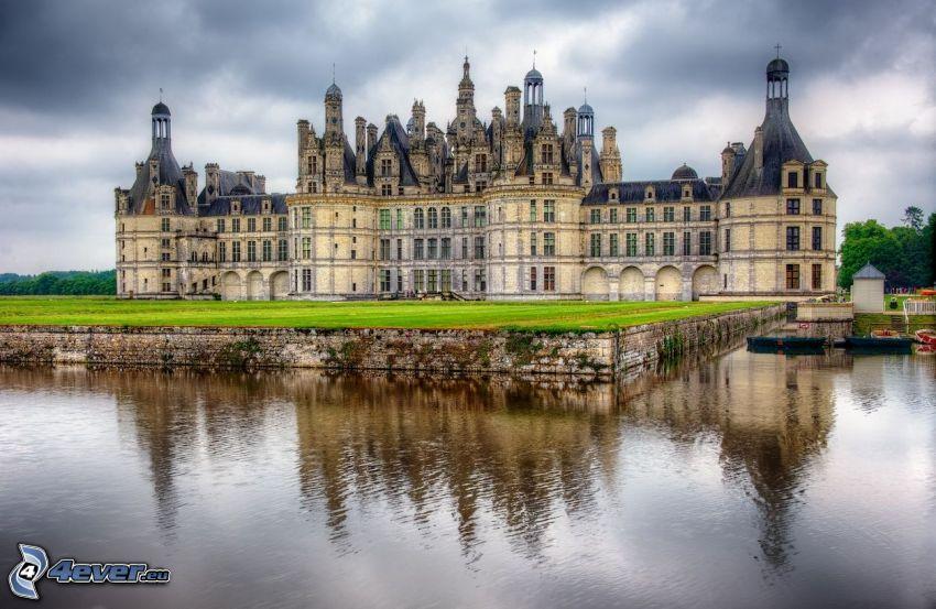 Zamek w Chambord, Cosson, HDR