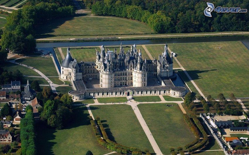 Zamek w Chambord, Francja