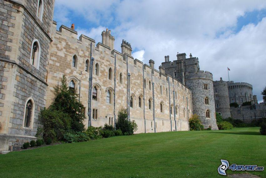 Zamek Windsor, trawnik