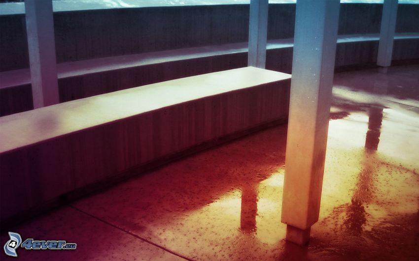 kolumny, podłoga