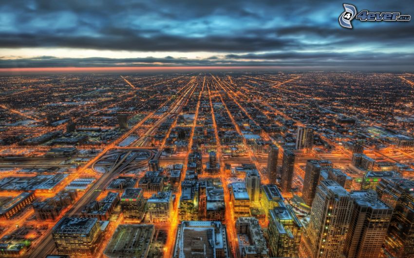 Chicago, HDR