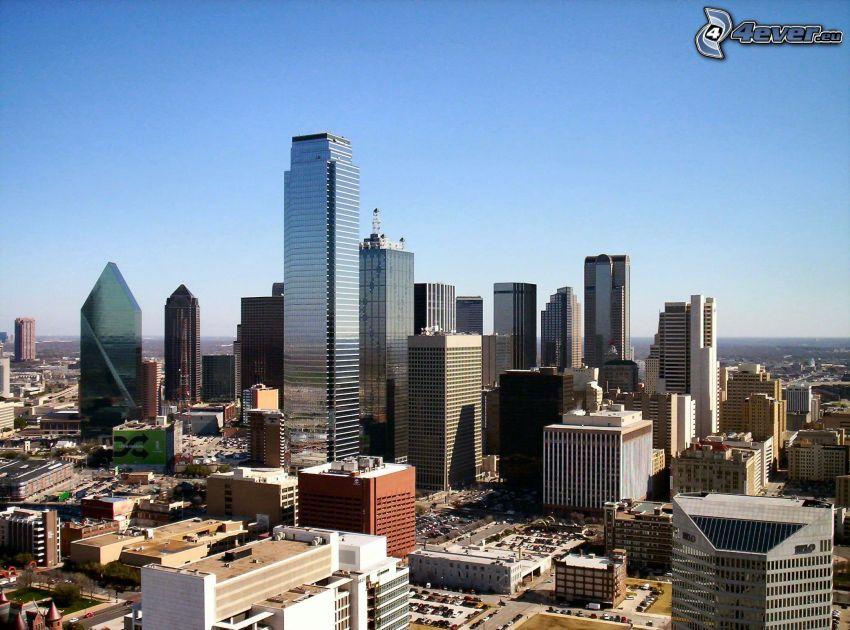 Dallas, wieżowce