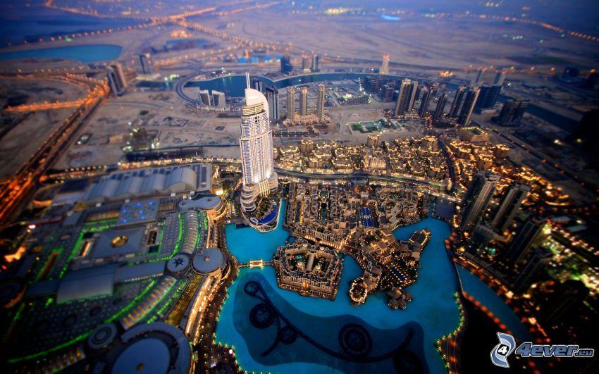 Dubaj, diorama