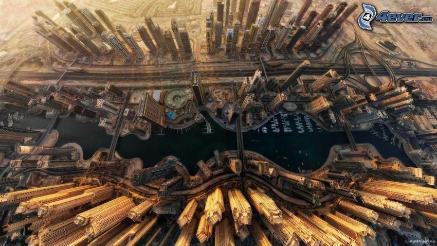 Dubaj, wieżowce