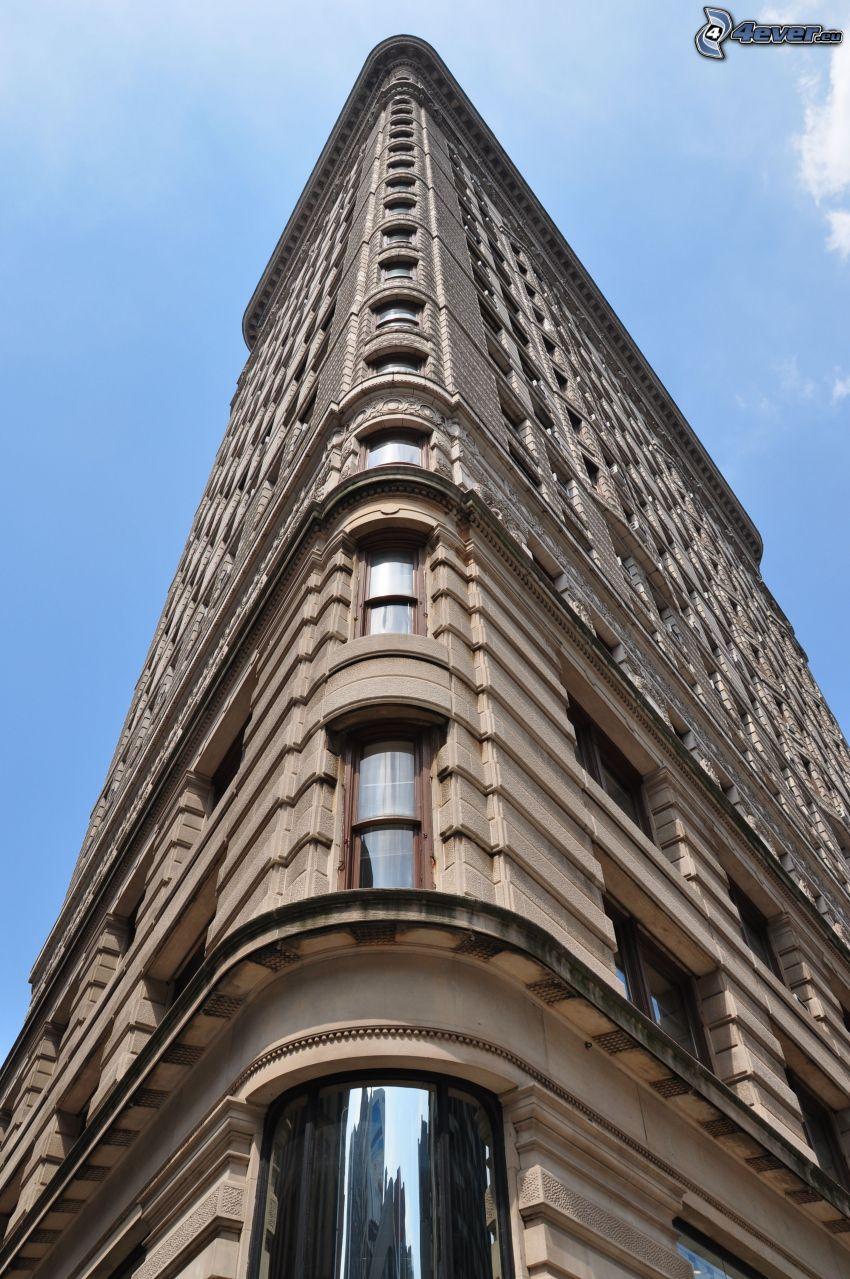 Flatiron, Manhattan, okna