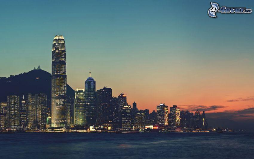 Hong Kong, wieżowce