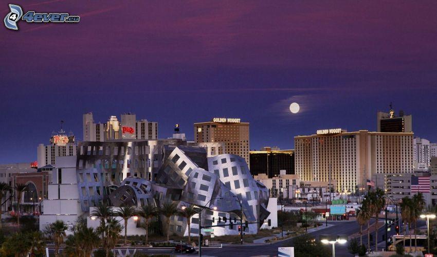 Las Vegas, księżyc