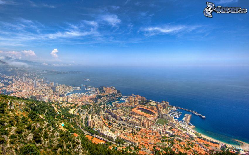 Monako, morze