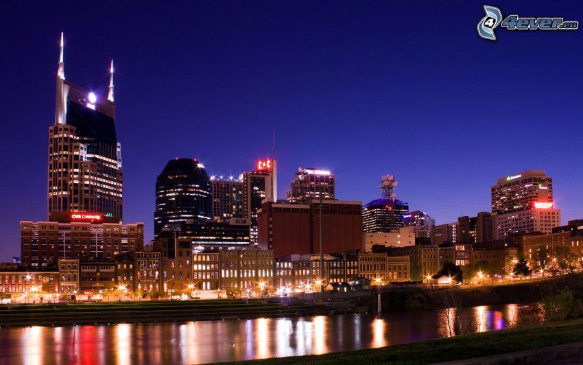 Nashville, miasto nocą