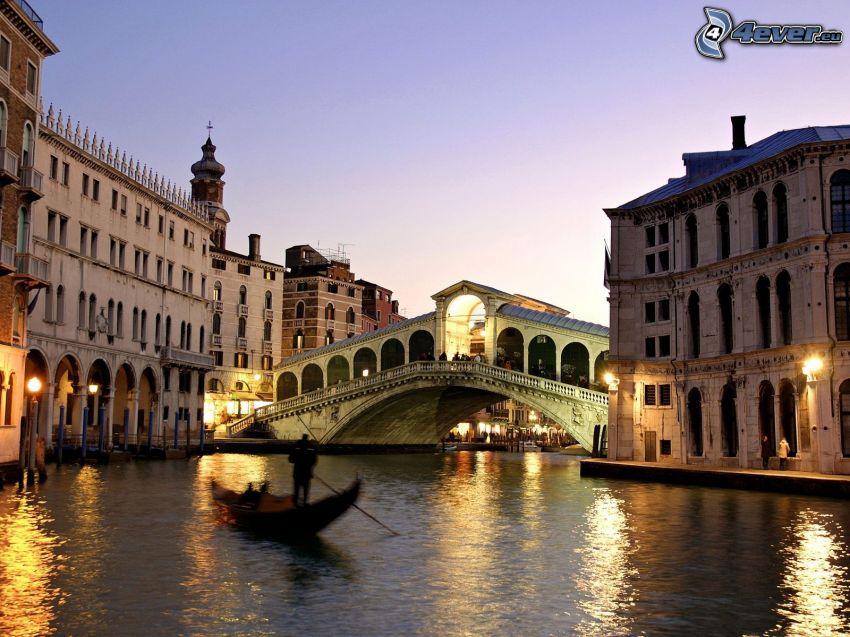 Ponte di Rialto, Wenecja, Włochy