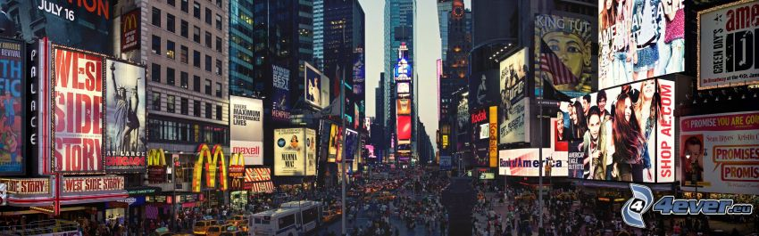 Times Square, New York, reklama