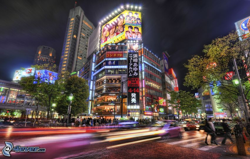 Tokio, HDR, reklama