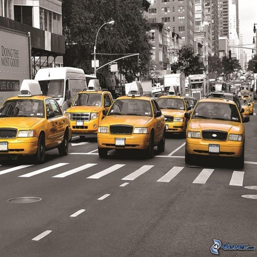 ulica, NYC Taxi