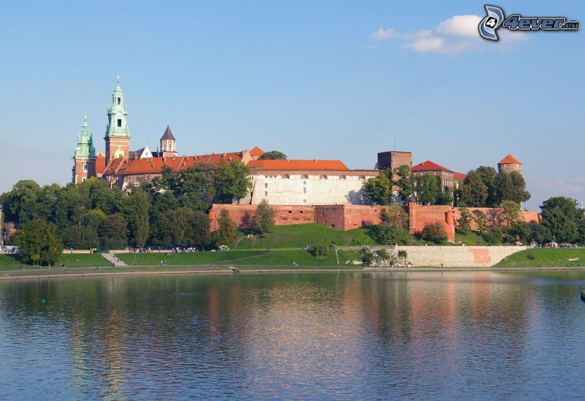 Wawel, Kraków, rzeka