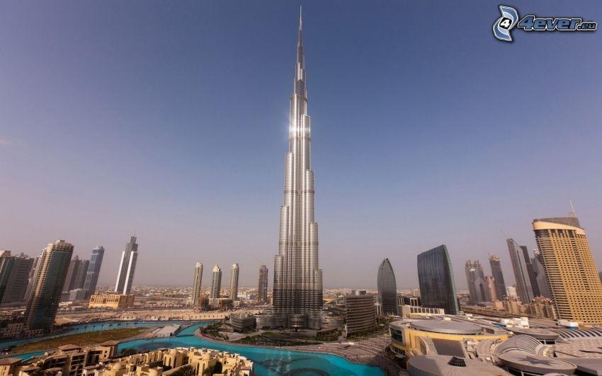 Burj Khalifa, Dubaj, Emiraty Arabskie