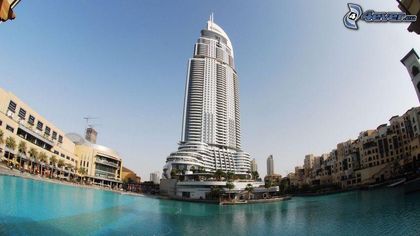 drapacz chmur, Dubaj, woda