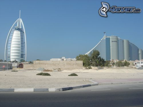 Dubaj, Burj Al Arab, Jumeirah Beach