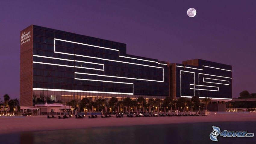 Fairmont Bab Al Bahr, hotel, księżyc