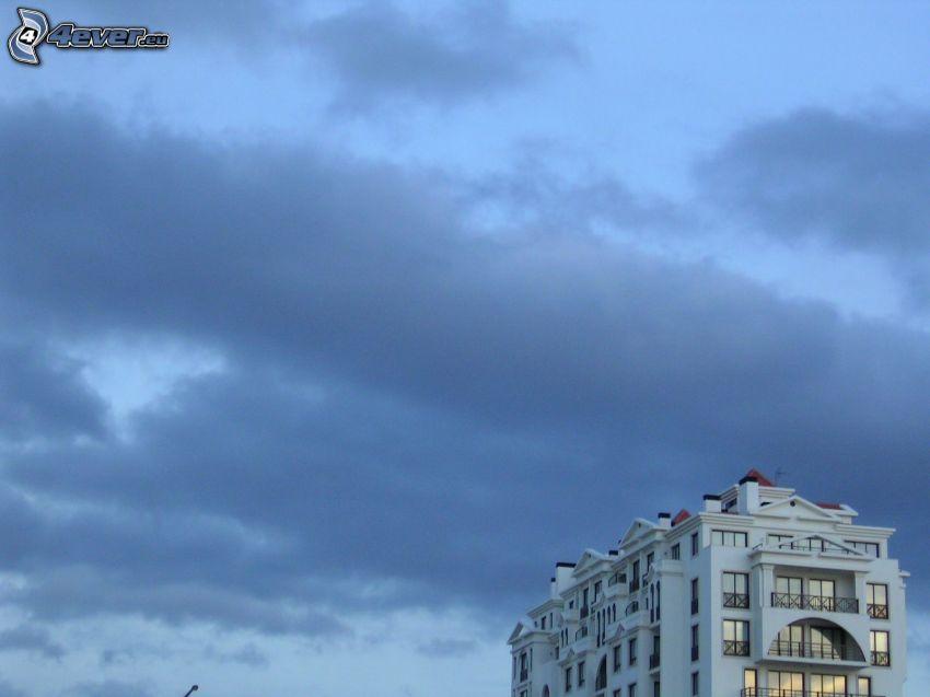 hotel, São Martinho, niebo