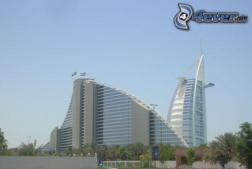 Jumeirah Beach, Burj Al Arab, Dubaj, hotel