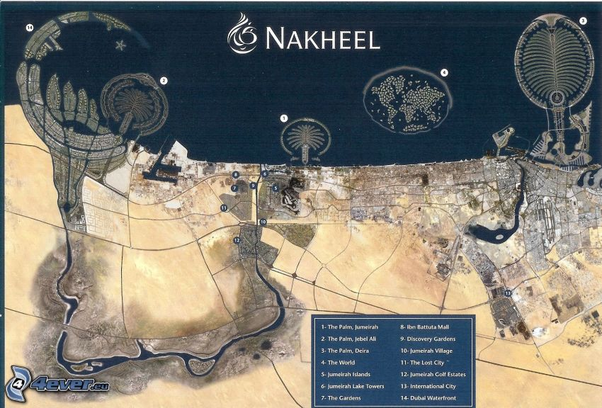 Nakheel, The Palm Jumeirah, Dubaj