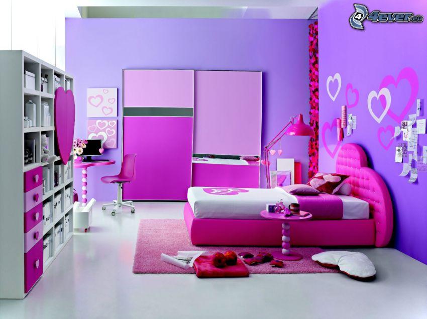 pokój dziecinny, łóżko