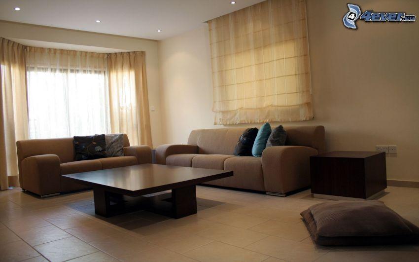 pokój dzienny, sofa