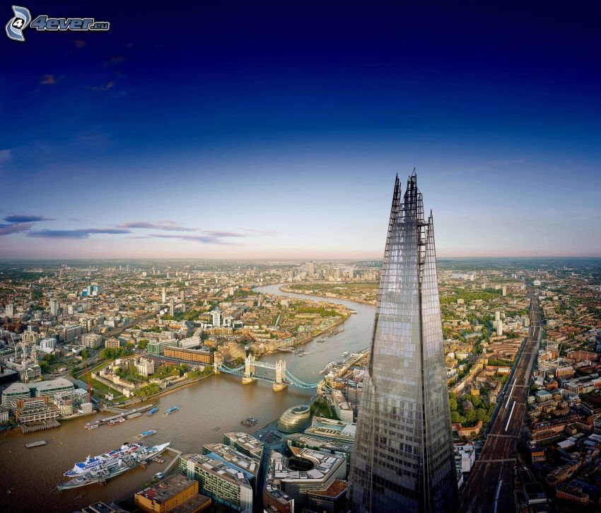 The Shard, Londyn, Tower Bridge