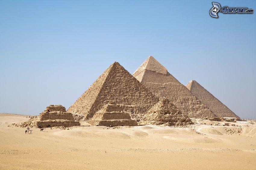 Piramidy w Gizie, Egipt