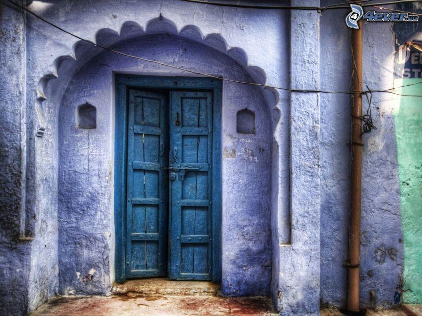 stare drzwi, brama
