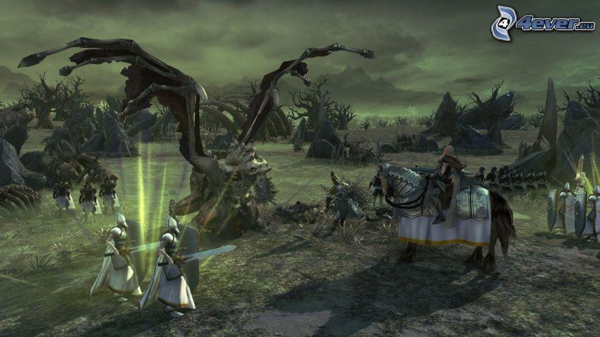 Age of Wonders, koń, potwór, żołnierze