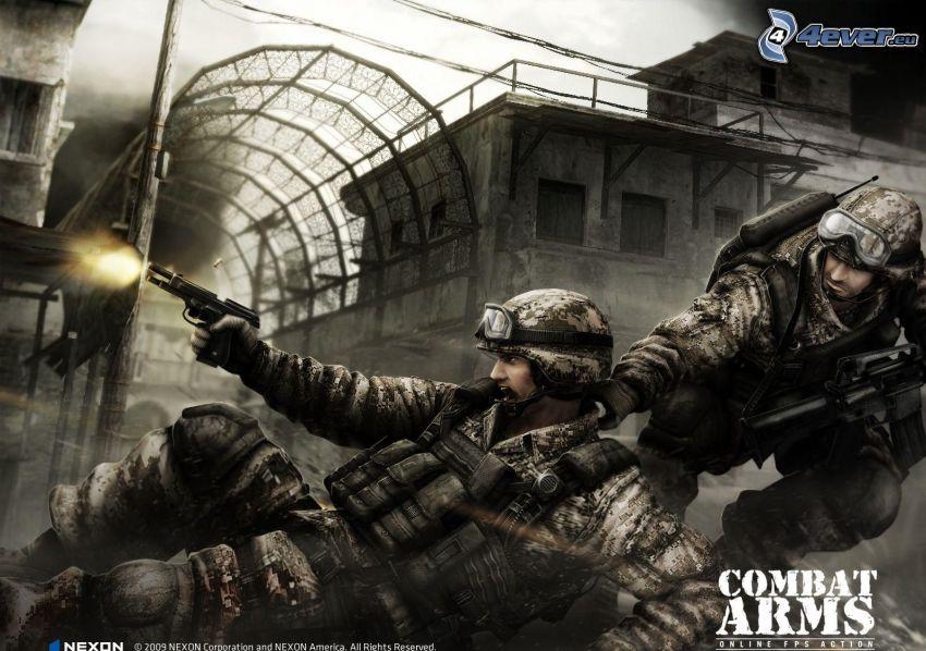 Combat Arms, żołnierze