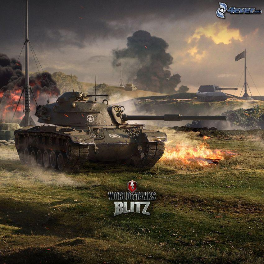 World of Tanks, czołgi, bójka