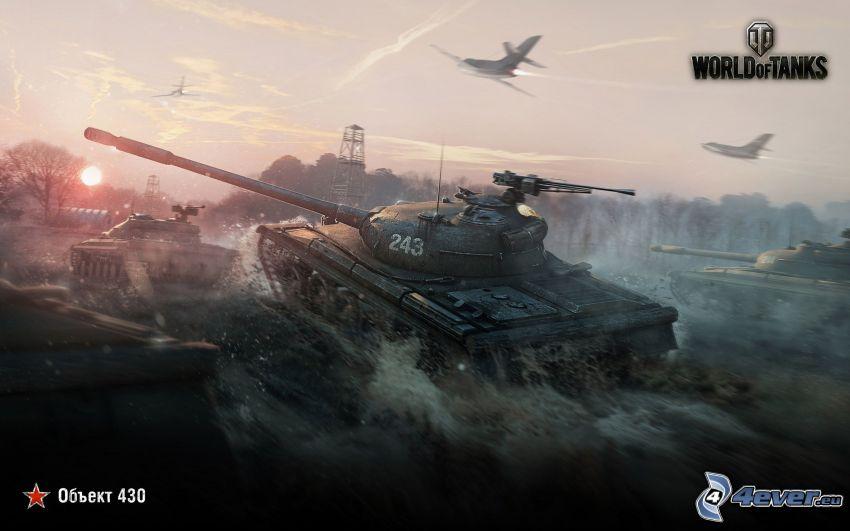 World of Tanks, czołgi